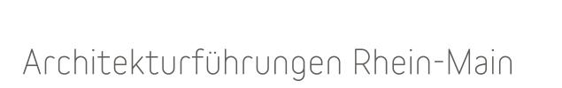 logo-teil architekturführungen rhein main